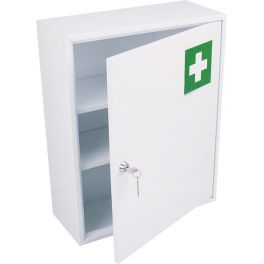 armoire pharmacie m tal 1 porte la pap th que oyonnax. Black Bedroom Furniture Sets. Home Design Ideas