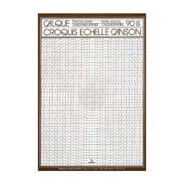 Papier calque Canson - bloc 50 feuilles dessin échelle A4