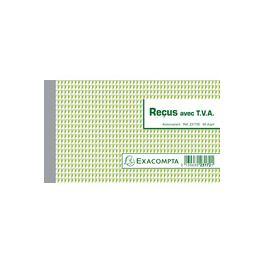 Manifold Reçus avec TVA 105x180 Dupli Exacompta