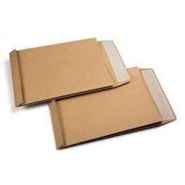 Paquet 50 enveloppes 229x324 kraft + soufflet 30