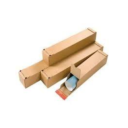 Paquet 10 tubes postaux carrés 610x108x108