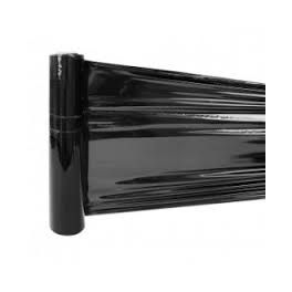Carton 6 rouleaux film étirable 45cm x 300m noir