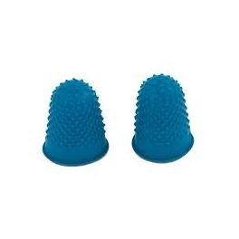 Doigtier caoutchouc bleu 18 mm