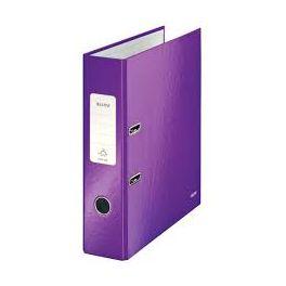 Classeur à levier dos 8cm Leitz WOW violet