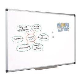 tableau blanc effacable uni melamine 60x90 la pap th que oyonnax. Black Bedroom Furniture Sets. Home Design Ideas