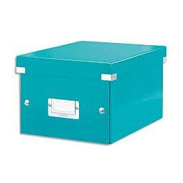 Boîte de rangement A4 Leitz Click & Store bleu glacier